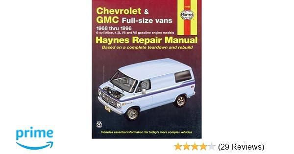 Chevrolet savana service manual ebook ebook tempower us array chevrolet vans u002768 u002796 haynes repair manuals haynes 9781563921971 rh fandeluxe Choice Image