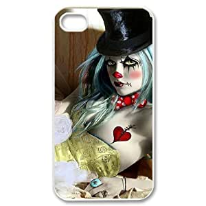 Hard Shell Case Of Clown Customized Bumper Plastic case For Iphone 4/4s