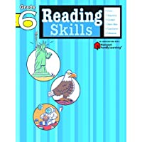 Reading Skills: Grade 6 (Flash Kids Harcourt Family Learning)