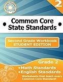 Second Grade Common Core Workbook - Student Edition
