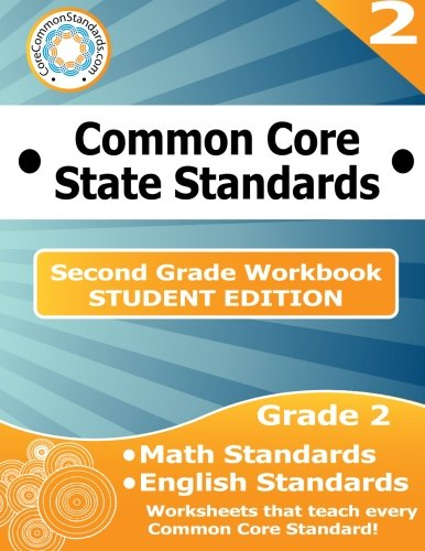 Second Grade Common Core Workbook - Student Edition ()