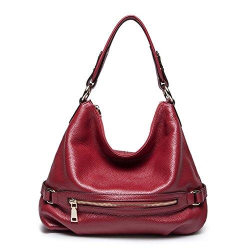 Eysee - Cartera de mano para mujer Varios colores negro 38cm*30cm*16cm Red
