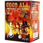 Coco Ala Charcoal Natural Coconut Hookah Shisha Coals, 108 Piece