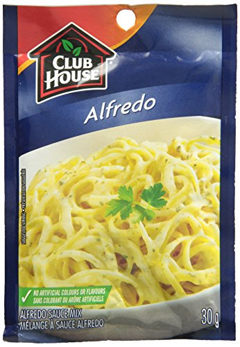 Club House Pasta Prima Alfredo, 30gram, 12-count - Imported from Canada