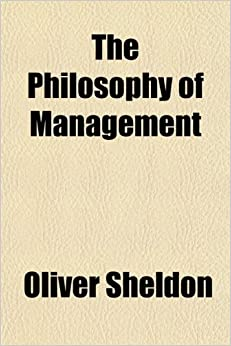 The Philosophy of Management