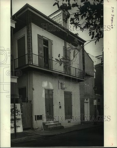 Vintage Photos 1984 Press Photo Housing - House Located at 510 Dauphine - - Press Dauphine