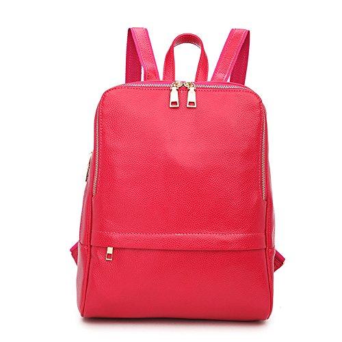 cuir Rose Nikauto à dos sac en pour femmes IfFv7fwBqx