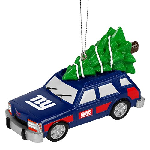 NFL Station Wagon New York Giants Christmas Ornament