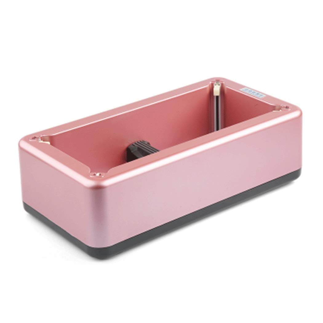 Yongyong Pure Color Automatic Shoe Cover Machine ABS Indoor Home Shoe Cover Machine to Send 100 Non-Woven Shoe Covers 40 21 12CM (Color : Pink, Size : 402112CM)