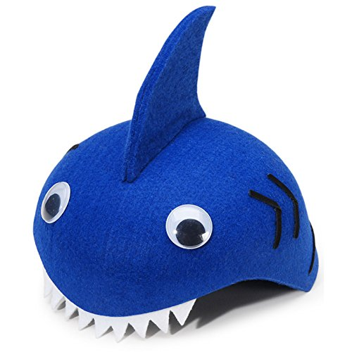 Darice Dress Up Felt Hat - Shark (Shark Hat Costume)