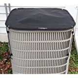 Outdoor Air Conditioner Covers - Winter Top AC Cover - 28x28 - Black