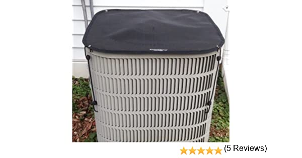 Amazon.com: HeavyDuty Beathable Tight Mesh Winter Top Air Conditioner Cover - 40x30 Top - Black: Home & Kitchen