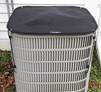 lennox air conditioner cover. outdoor air conditioner covers - winter top ac cover 28x28 black lennox u
