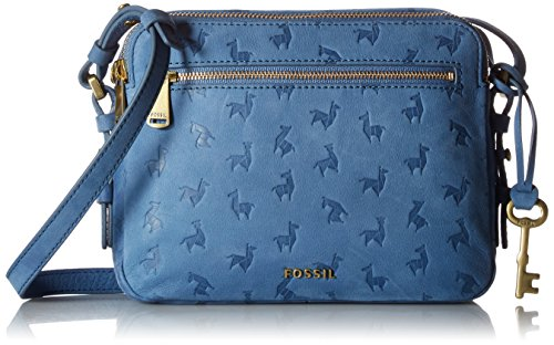 Fossil Piper Toaster Crossbody,Cornflower,One Size by Fossil
