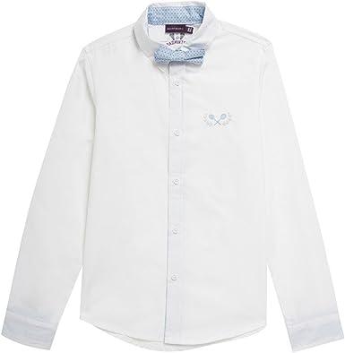Sergent Major-Shirt-Fisamy camisa blanca, color blanco blanco ...