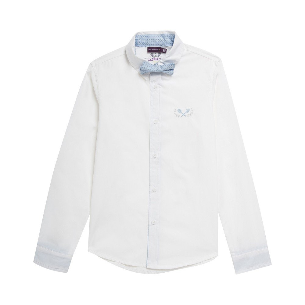 Sergent Major-Shirt-Fisamy camisa blanca, color blanco blanco 14 ...