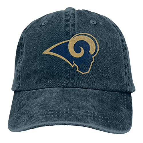 Los Angeles Rams Medical Wear. Adult Cowboy Los Angeles Rams Logo NFL Hat  Baseball Cap Adjustable ... df255a17af87
