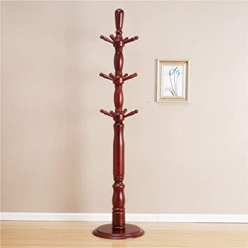 Amazon.com: PLLP Coat Racks Clothes Stand Floor-Standing ...
