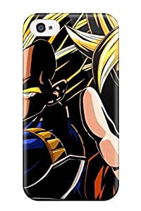 KmhOjzi10167QMJag Case Cover Protector For Iphone 4/4s Vegeta And Gokou Case