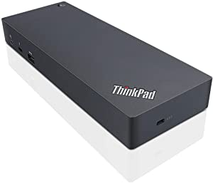 Lenovo Thinkpad Thunderbolt 3 Dock - 40AC0135US (Renewed)