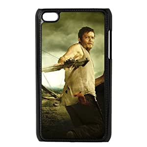 J-LV-F Phone Case The Walking Dead,Customized Case For Ipod Touch 4