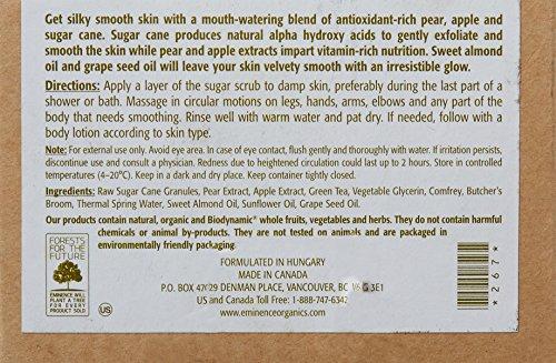 Eminence Pear and Green Apple Sugar Scrub, 8.4 Ounce