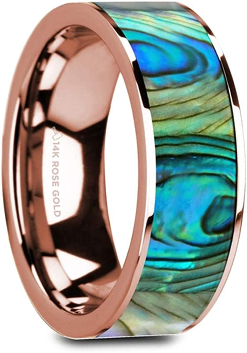 Thorsten Fish Hook Design Sport Fishing Print Pattern Flat Black Tungsten Ring 4mm Wide Wedding Band from Roy Rose Jewelry