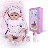Best Baby Dolls That Look Reals - Pinky 42cm 17 Inch Lovely Realistic Reborn Ba Review