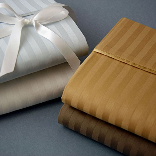 romeo-510-thread-count-stripe-egyptian-cotton-pillow-cases-ivory-king