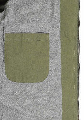 Ivy Dry Green SOLID Jacket 3797 Chaqueta de Hombre Invierno para wqw0UdR8x