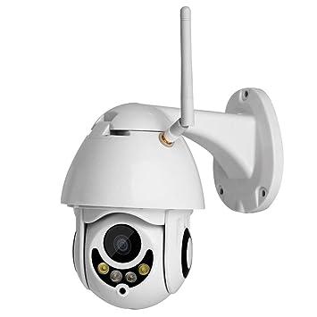 Ydq Cámara IP De Seguridad Inalámbrica, Cámara PTZ WiFi WiFi HD 1080P 4X Zoom Cámara