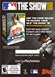 #8: 2018 Topps Series 2 MLB The Show 18 Game Code Unused Baseball Card - Good for 10 Standard Packs