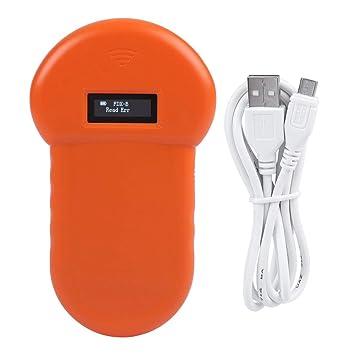 Bewinner Animal ID Reader, 134.2Khz Pet RFID Reader con Pantalla ...