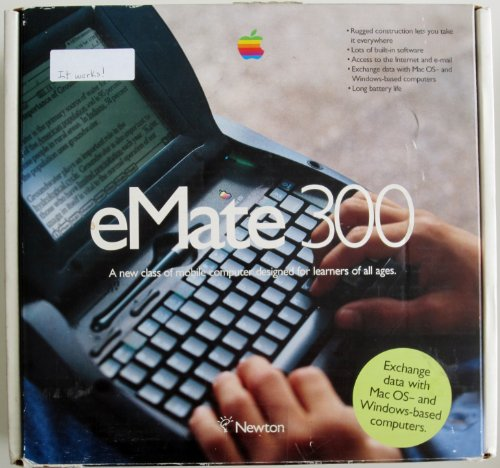 Apple: eMate 300 with Integrated Keyboard (Newton)