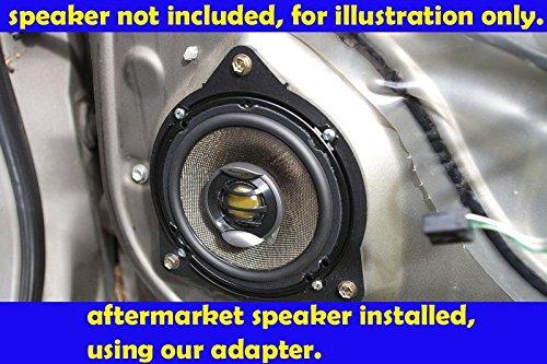 SAK019/_55-1 Pair Toyota 1997-2001 Camry Front Door Speaker Adapter Spacer Rings