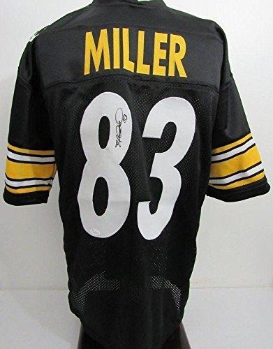 Autographed Heath Miller Jersey - WP95574 - JSA Certified - Autographed NFL Jerseys ()