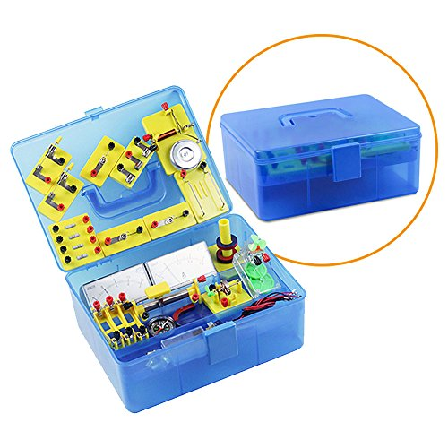 What Is Stem Lab In School: LERBOR STEM Physics Science Lab Basic Circuit Learning Kit