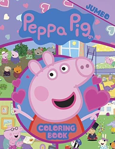 Peppa Pig Coloring Book: Aged 3 - 7]()