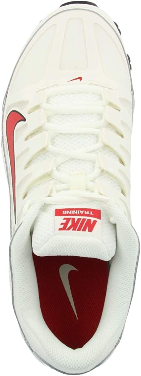 NIKE Reax 8 TR Mesh, Zapatillas de Cross para Hombre Multicolor Sail Mystic Red Black 100