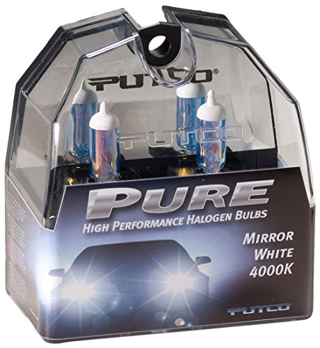 Putco 230880MW Pure Halogen Headlight Bulb - Mirror White - 880 (Chrome Halogen Mirror)