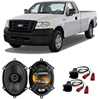 Fits Ford F-150 2004-2008 Front Door Factory Replacement Speaker Harmony HA-R68 Speakers