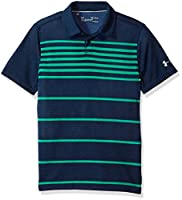 Under Armour Boys' Threadborne Brassie Stripe Polo