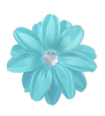 réputation fiable différemment nouveau style et luxe Pince à cheveux fleur de lys bleu léger: Amazon.fr ...