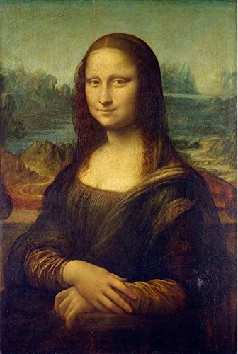 Perfect Effect Canvas ,the High Resolution Art Decorative Prints On Canvas Of Oil Painting 'Leonardo Da Vinci-Mona Lisa,16th Century', 12x18 Inch / 30x45 Cm Is Best For Living Room Decoration And Home Decoration And Gifts