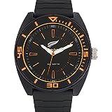 All Blacks - 680145 - Montre Homme - Quartz Analogique - Cadran Noir - Bracelet Plastique Noir