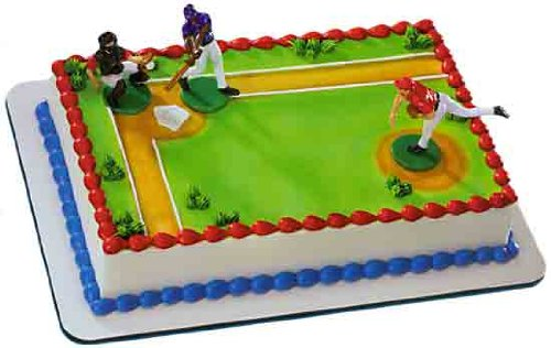 Decopac Baseball Batter Up Cake Decoration, Health Care Stuffs