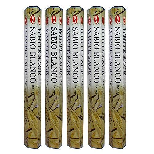 - Hem White Sage Incense Sticks (200 Sticks)