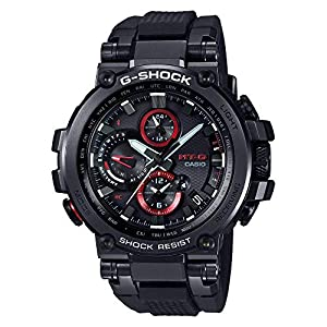 51Ay1AAJucL. SS300  - Casio G-Shock MT-G Connected Black Watch MTG1000B-1A