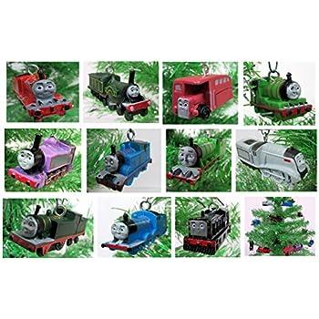 Amazon.com: Thomas the Train 12 Piece Holiday Christmas ...