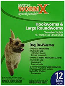 B Sentry HC WormX Dog Dewormer, Small Dogs, 12ct